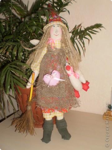 Ведьмочки Рост 42 см. Волосы из пакли. Очень хорошо смотрятся как настоящие. фото 2