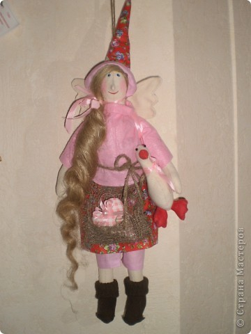 Ведьмочки Рост 42 см. Волосы из пакли. Очень хорошо смотрятся как настоящие. фото 4