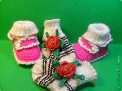 Пинетки и носочки фото 1