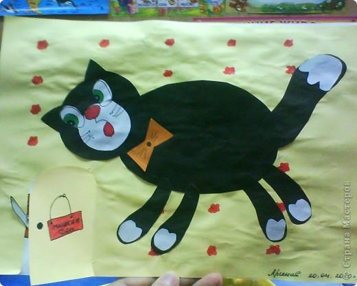 Черный кот и мышка фото 3