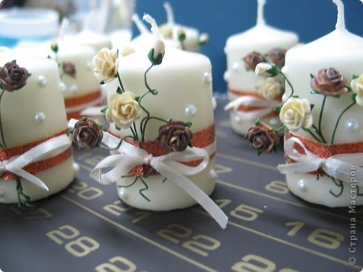 свечи... подарки к женщини фото 1