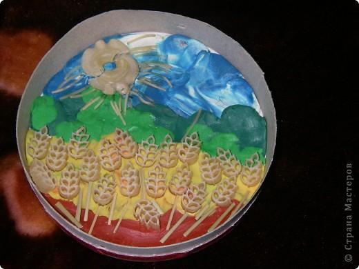пластилин и макароны