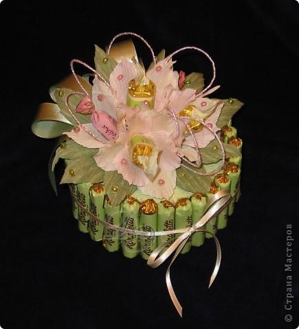 Тюльпаны с бутонами из органзы фото 2
