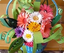 цветочная корзиночка фото 2