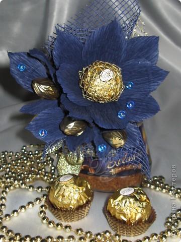 Тюльпаны с бутонами из органзы фото 5