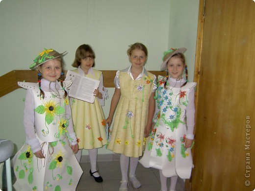 Девочки 2-го класса, сделали это волшебство. фото 1