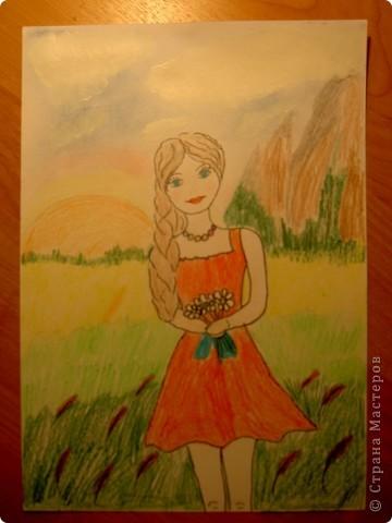 Работа моей дочки Яны. фото 2