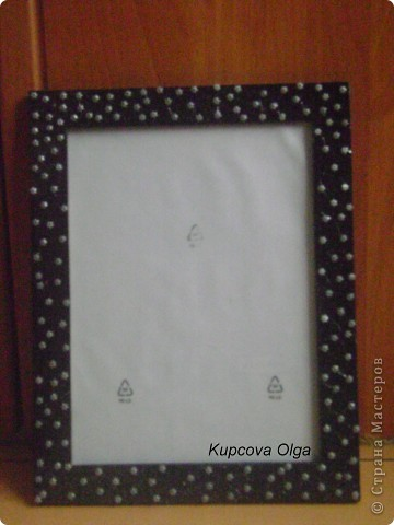 Рамочки (с украшениями из макарон и денежками) фото 2