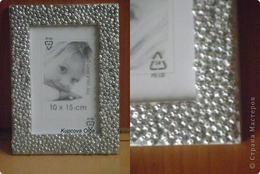 Рамочки (с украшениями из макарон и денежками) фото 3