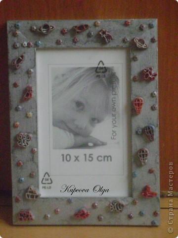 Рамочки (с украшениями из макарон и денежками) фото 1
