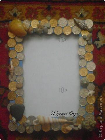 Рамочки (с украшениями из макарон и денежками) фото 6