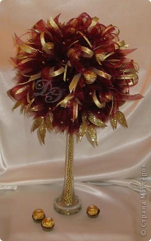 Тюльпаны с бутонами из органзы фото 3