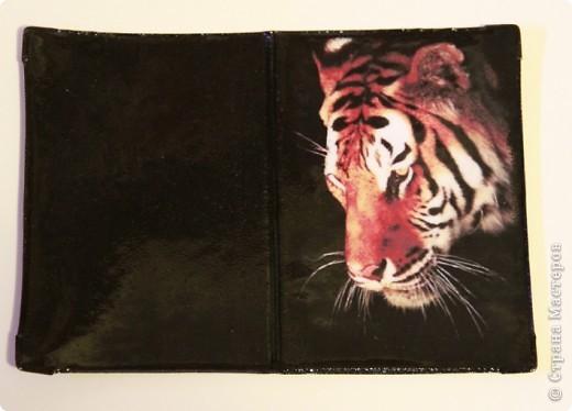 """Второй вариант обложки на тему """"Морские глубины"""", с использованием распечатки работы Дэвида Миллера. фото 4"""