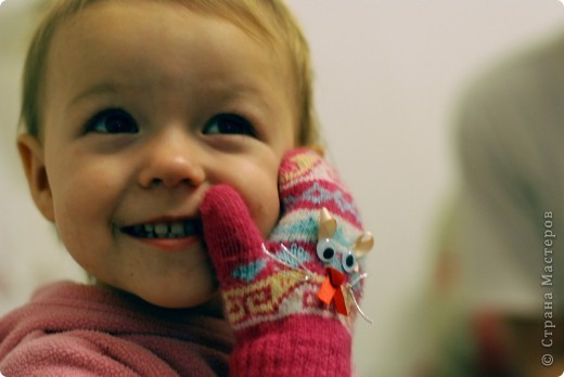 Как влюбить ребенка в варежки