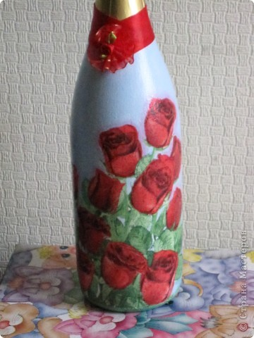 Праздничная бутылочка фото 2