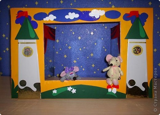 Кукольный театр своими руками сделать