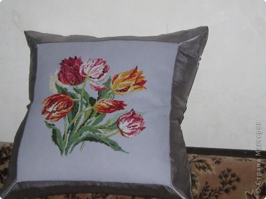 """Подушка """"Тюльпаны"""""""