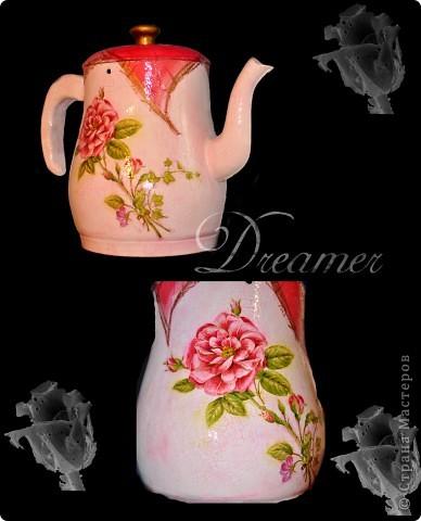 чайник ваза