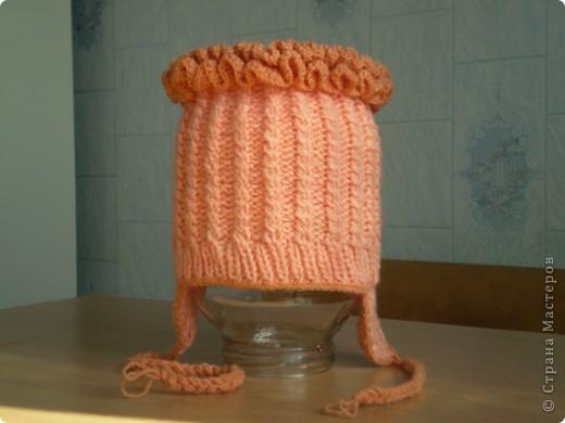 шапочка на зиму фото 1