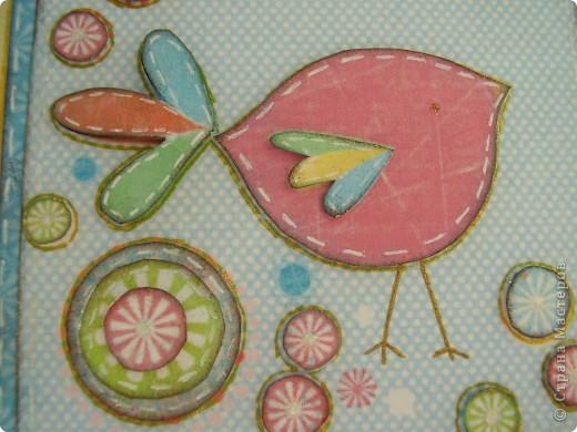 Мои последние поделки- проделки. Блокнот. В тканевой мягкой обложке сделан по мотивам мастер-класса Котятины на www.scrap-info.ru фото 7