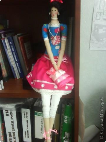 """Мне очень нравились тильды в """"стране мастеров"""".И я решилась.Моя первая кукла. фото 1"""