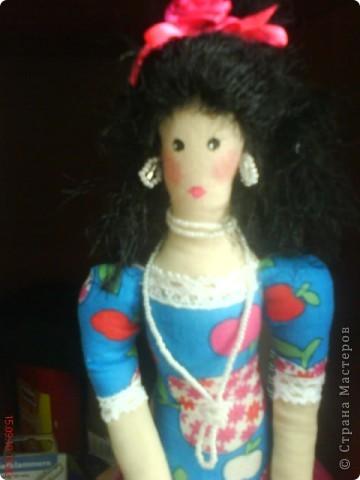"""Мне очень нравились тильды в """"стране мастеров"""".И я решилась.Моя первая кукла. фото 4"""
