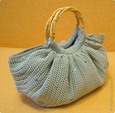 Вот такая сумочка у меня получилась))) Спасибо большое за мастер-класс Elena.ost фото 2