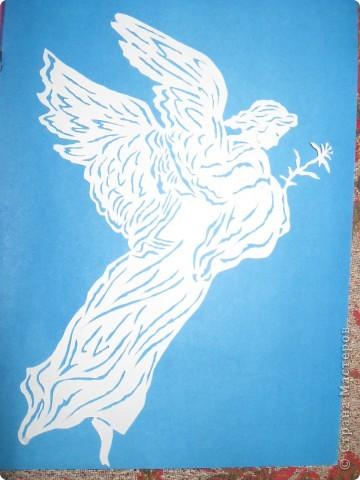 Вдохновил ангел с картины Доре.