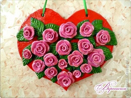 Розовое сердечко  фото 1