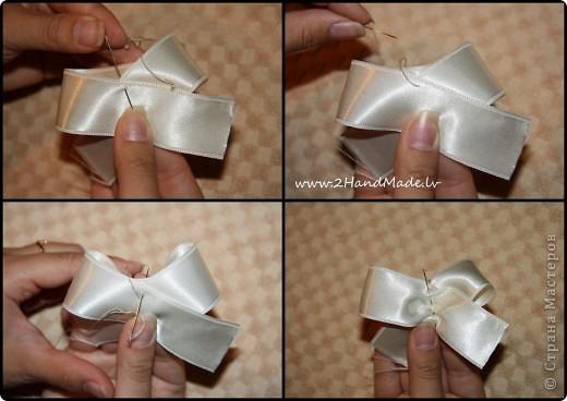 Как сделать бантик на голове фото 423