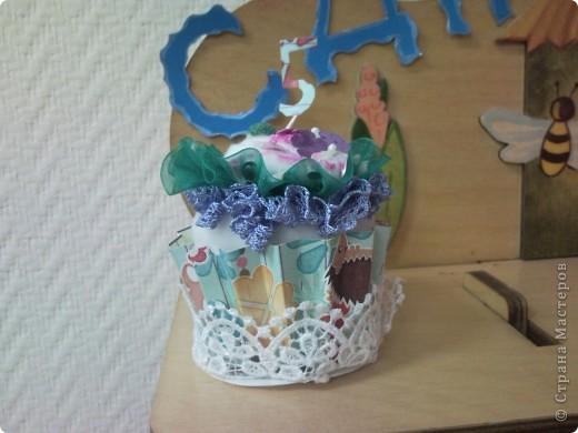 """Мой тортик и кексик для уголка """"День рождение"""" в детский сад фото 3"""