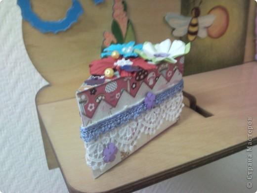"""Мой тортик и кексик для уголка """"День рождение"""" в детский сад фото 2"""