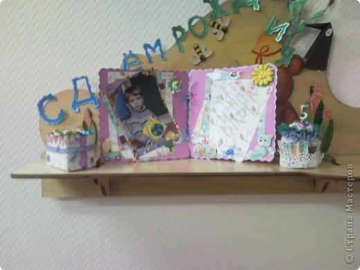 """Мой тортик и кексик для уголка """"День рождение"""" в детский сад фото 1"""