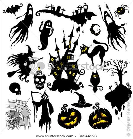 Совсем скоро (через неделю) будет Хэллоуин! Чтобы создать антураж праздника, я решила, сделать подсвечник.  фото 20