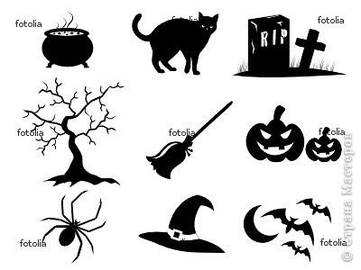 Совсем скоро (через неделю) будет Хэллоуин! Чтобы создать антураж праздника, я решила, сделать подсвечник.  фото 21