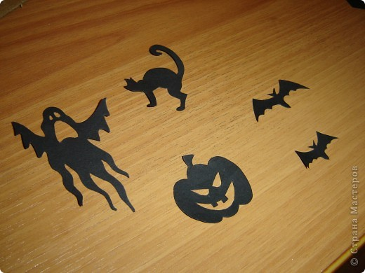 Совсем скоро (через неделю) будет Хэллоуин! Чтобы создать антураж праздника, я решила, сделать подсвечник.  фото 11