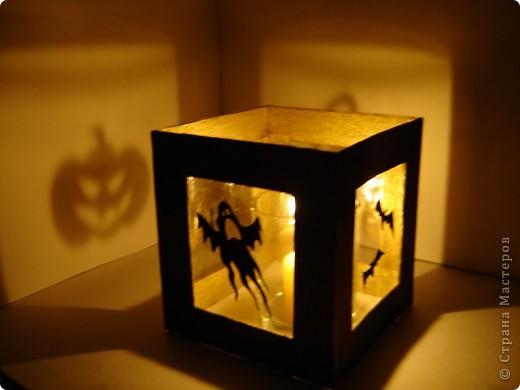 Совсем скоро (через неделю) будет Хэллоуин! Чтобы создать антураж праздника, я решила, сделать подсвечник.  фото 2
