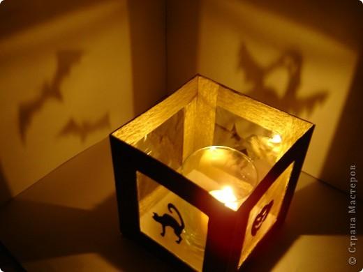 Совсем скоро (через неделю) будет Хэллоуин! Чтобы создать антураж праздника, я решила, сделать подсвечник.  фото 18