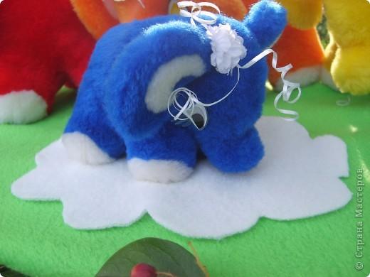 Радужные слоны фото 3