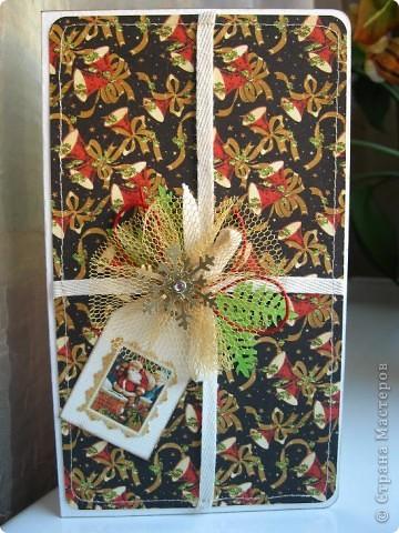 Готовь сани летом, а открытки - когда материал есть! Наконец дождалась посылку с новогодними прибамбасами! фото 4