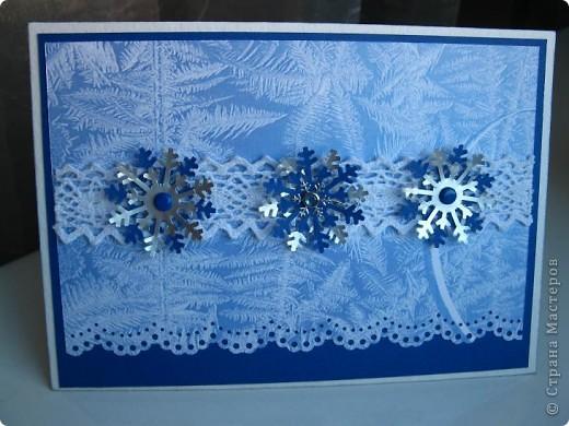 Готовь сани летом, а открытки - когда материал есть! Наконец дождалась посылку с новогодними прибамбасами! фото 1