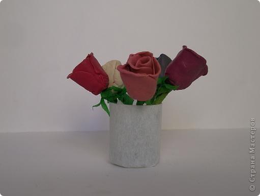 Розы для мамы. Артём-7 лет.