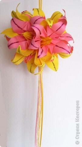 Лилии желто-розовые фото 2
