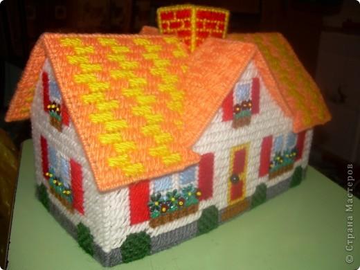 домик для карандашей фото 2