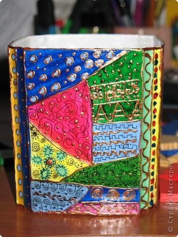 """Коробка в стиле """"Пэчворк"""" и ещё одна просто так фото 2"""