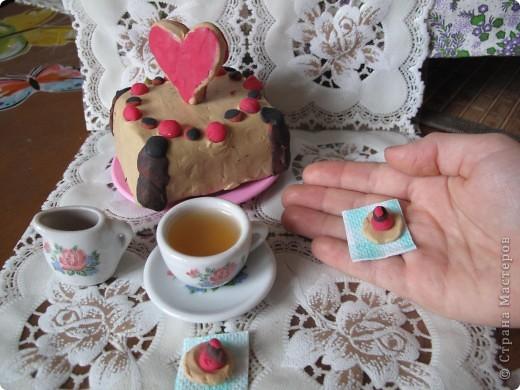 Свадебный тортик для кукол. фото 2