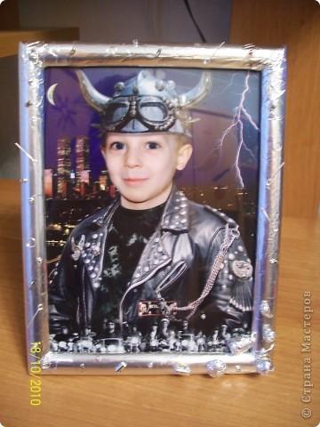 рамочка для байкера фото 1