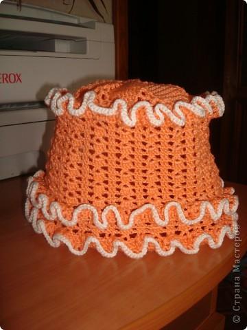 Оранжевая панамка фото 1
