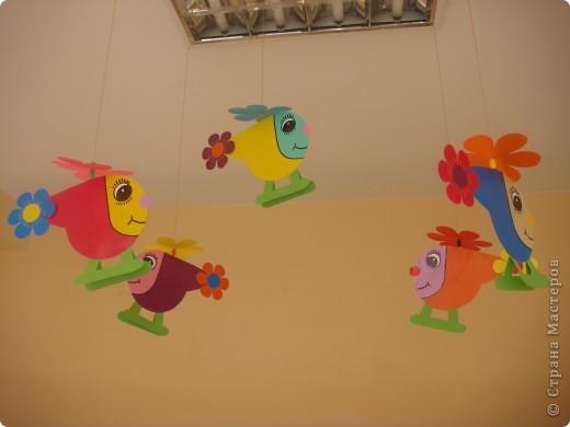 Для новой группы нового детского сада украшение в приемную. Подсмотрено на просторах интернета и  слегка усовершенствовано. фото 2