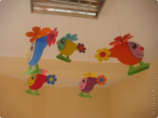 Для новой группы нового детского сада украшение в приемную. Подсмотрено на просторах интернета и  слегка усовершенствовано. фото 1
